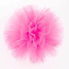 Decor sala din tulle roz inchis pentru evenimente, Radar 41262, 1 bucata