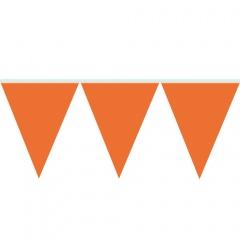 Banner decorativ orange pentru petrecere - 10 m, Radar 54002