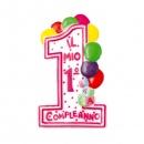 Birthday Candle Number 1, Radar 51471, 1 Piece