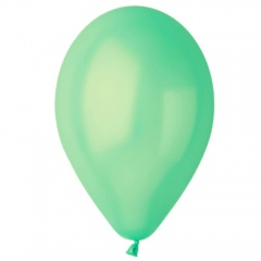 Aquamarine 62 Metallic Latex Balloons , 5 inch (13 cm), Gemar AM50.62, Pack Of 100 pieces
