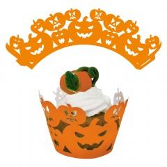 Decoratiuni pentru tort/cupcakes Halloween - 5.5 cm, Radar 25265, set 12 bucati