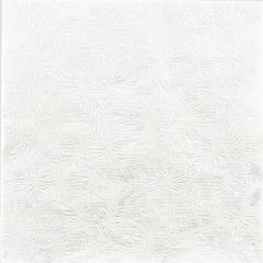 Servetele de masa alb perlat cu model pentru petrecere - 33 x 33 cm, Radar 60733, set 16 bucati