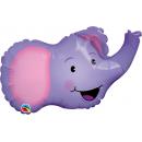 Balon Folie Minifigurina Elefant, Northstar Balloons, 36 cm, 00604