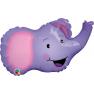 "Little Elephant Mini Foil Balloon, Northstar Balloons, 14"", 00604"