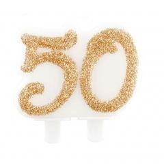 Lumanare aniversara pentru tort numarul 50, Radar 51166