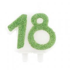 Lumanare aniversara pentru tort numarul 18, Radar 51167