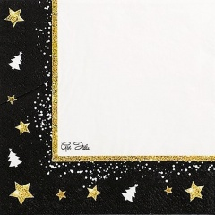 Servetele de masa Christmas Glamour - 33 x 33 cm, Radar 63828, set 16 bucati