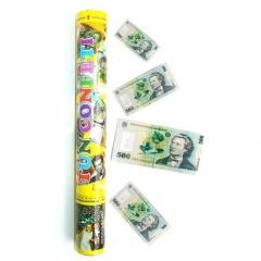 Tun de confeti 40 cm cu bancnote, Radar TUN8340.BANI, 1 bucata