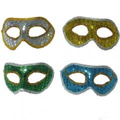 Masca party venetiana cu paiete- diverse culori, Radar 17706