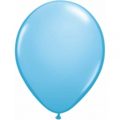 Balon Latex Pale Blue, 9 inch (23 cm), Qualatex 43697