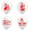 "Latex Balloons Printed with Party - 10""/26cm, Radar GI.PARTY"