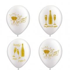 """Latex Balloons Printed with Clown - 10""""/26cm, Radar GI.CLOWN"""