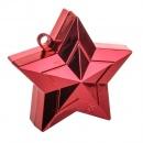 Greutate Stea Rosie pentru Baloane cu Heliu - 170g, Amscan 117800-07