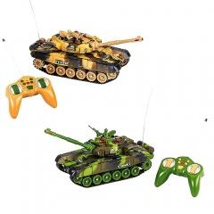 Tancuri militare cu telecomanda, 2 bucati 43907