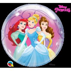 Bubble 55 cm / 22'' Printese Disney, Qualatex 46725