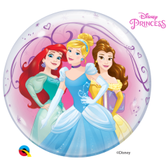 Bubble 55 cm / 22'' Printese Disney, Qualatex 46725