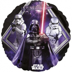 Balon folie 45 cm Star Wars, Amscan 32918