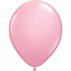 "Balon Latex Pink 9"", Qualatex 43701"