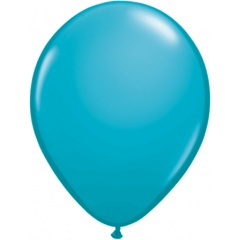 "Balon Latex Tropical Teal, 9"" Qualatex 43708"