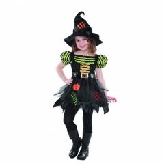 Costum copii Vrajitoare Halloween pentru fete (8-10 ani), Amscan 997719
