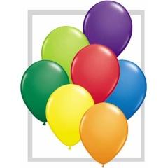 "Balon Latex 5"" Asortate Carnaval, Qualatex"