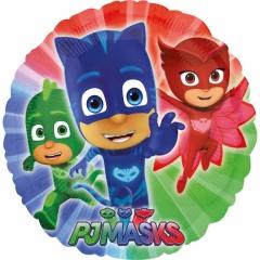 Balon folie 45 cm PJ Masks - Eroii in pijama, Amscan 34672