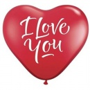 Baloane latex in forma de inima, Sidefate, Diametru 16 cm, Asortate, Gemar CRM6.ASS, set 100 buc