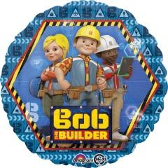 Balon folie 45 cm Bob the Builder, Amscan 32417
