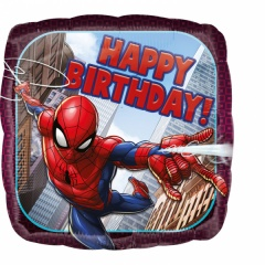 Balon folie 45 cm Spiderman Happy Birthday, Amscan 34664