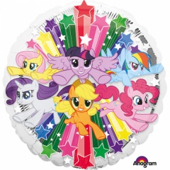 Balon folie 45 cm My Little Pony, Amscan 34902