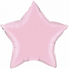 "Pearl Lavander Star Microfoil Balloon - 4""/10cm, Qualatex 54580"