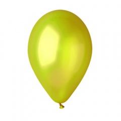 "Lime Green 67 Metallic Latex Balloons , 5""/13 cm, Gemar AM50.67, Pack Of 100 pieces"