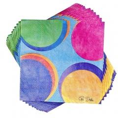Servetele de masa pentru petrecere multicolor - 33 x 33 cm, Radar 63381, set 20 bucati