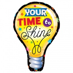 Balon folie figurina Your Time To Shine - 102 cm, Qualatex 23922