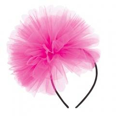Bentita roz cu tulle pentru burlacite, Radar 41343, 1 bucata