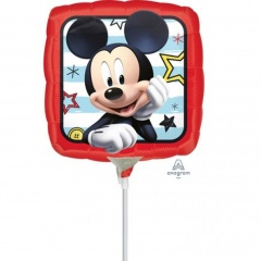 "9'' ""Mickey Roadster Racers"" Foil Balloon, Amscan 36228"