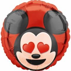 "18"" Mickey Mouse Emoticon Foil Balloon, 36750"