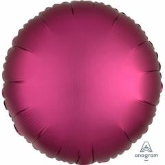 Balon folie rotund 45 cm Satin Luxe Pomegranata, Amscan 36827