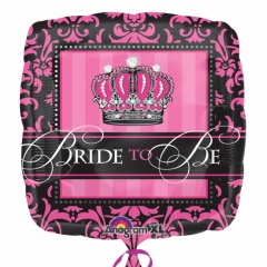 "18"" Bride to be Foil Balloon, 24549, 1 piece"