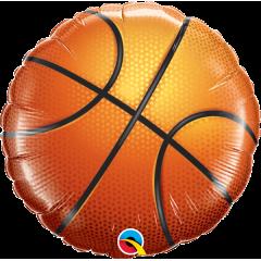 Balon Folie 45 cm minge de basket, Qualatex 21812