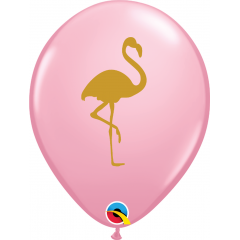 "Baloane latex 11""/28cm Flamingo - Pink, Qualatex 57554"