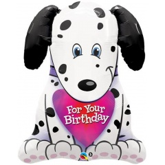Balon folie figurina catel - For Your Birthday, Qualatex 33372