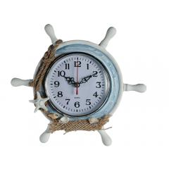 Ceas de birou in forma de timona - 23 x 20 cm, Radar 830021