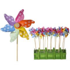 Morisca multicolora cu buline - ca. 9 x 28 cm, Radar 137208