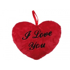 "Perna decorativa inima ""I love you"" - ca. 26 cm, Radar 63/2115"