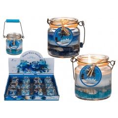 Lumanare decorativa parfumata - ca. 6 x 6.5 cm, Radar 100144, 2 culori