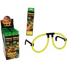 Ochelari fluorescenti petrecere - 20 cm, Radar 90/0987, diverse culori