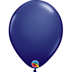 Balon Latex Navy Blue, 11 inch (28 cm), Qualatex 57127