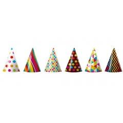 Coifuri de petrecere 20 cm cu desene - Radar AS50035, diverse modele