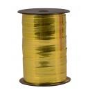Rafie metalizata limone pentru baloane sau decoratiuni - 100 m, Radar B12596, 1 rola